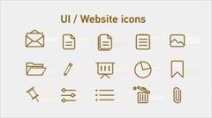 80 Animated icons CS4 Stock After Effects