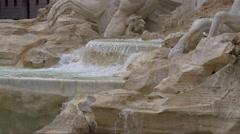 Fountain Trevi, Rome, Italy. Stock Footage