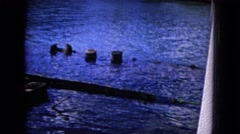 1968: a water area is seen HAWAII Stock Footage