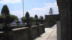1973: a decent view is seen MEXICO Stock Footage
