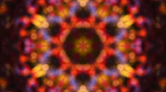 Amazing abstract kaleidoscope colored pattern with complex diagonal structure Stock Footage