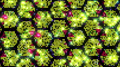 Led Screen Honeycomb Stock Footage