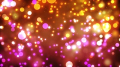Bright shining colored stars overload! Motion video looping HD Stock Footage