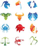 Horoscopes Stock Illustration