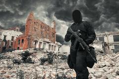 Nuclear post apocalypse survivor Kuvituskuvat