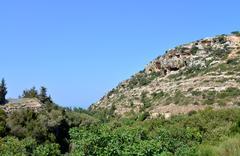 Crete mountain peak Stock Photos