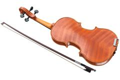 Violin, bow, back view Piirros