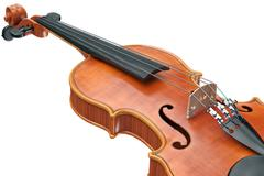 Viola stringed equipment, close view Piirros