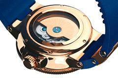 Wrist watch mechanical accessory, close view Stock Illustration