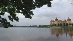 Moritzburg Castle Germany. Stock Footage