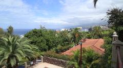 Puerto de la Cruz, city views. Tenerife, Canary islands. Spain. Stock Footage