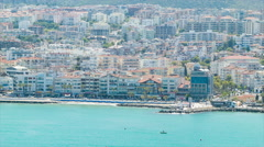 Kusadasi Turkey Western Turkish Coastline Stock Footage