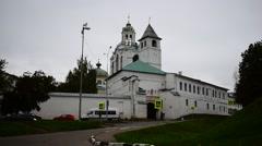Spassky St Saviour Monastery - Away Stock Footage