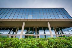 Modern office building in Alexandria, Virginia. Stock Photos