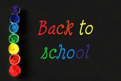 Back to school photo Stock Photos
