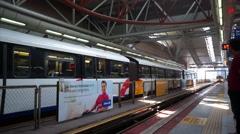LRT Train Stock Footage