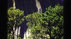 1967: escaped monkeys showing mountain where they plan to hide WYOMING Stock Footage