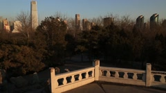 Beijing central business district,Chaoyang District Stock Footage