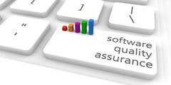 Software Quality Assurance Stock Illustration