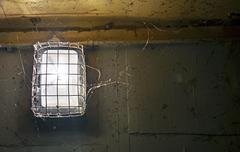 Creepy basement lighting Stock Photos