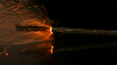 Fuse. Igniter blasting. Explosive charges ignition method. Stock Footage