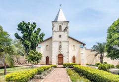 Catholic Church Bunena in Bukoba, Tanzania Stock Photos