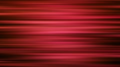 Horizontal red moving lines - Animation motion background loop Stock Footage