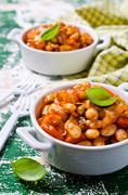 Baked beans in sauce Kuvituskuvat