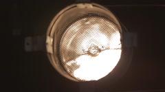Stage Light Beam Footage Stock Footage