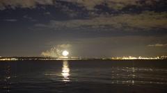 4K Firework - extra long shot Stock Footage