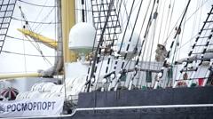 SCF Black Sea Tall Ships Regatta, 2016 Stock Footage