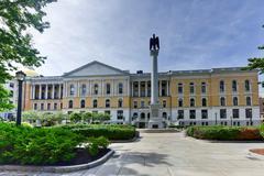 Massachusetts State House in Boston Stock Photos