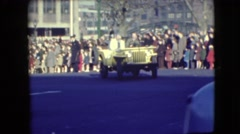 1948: the well known personality miss their peoples attraction before the u.s Stock Footage