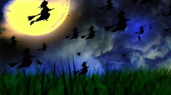 Halloween Background 1 Stock Footage