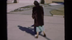 1951: a mother with a small child is seen CHATHAM, NEW JERSEY Stock Footage