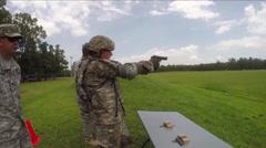 Soldiers undergo field training in preparation for war. Stock Footage