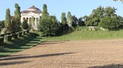 Villa Almerico Capra La Rotonda made by Andrea Palladio in Vicenza Stock Footage