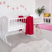 Be imaginative decorating a room for your baby! Stock Photos