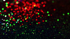 Bokeh Lights. Beautiful Christmas background. Stock Footage