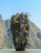 James Bond Island or Koh Tapu in Phang Nga Bay, Thailand Kuvituskuvat