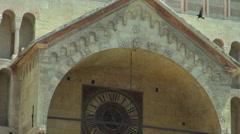 Cathedral San Zeno in Verona Stock Footage