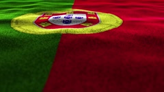PORTUGAL, Textile Carpet Background, Still Camera, Loop, 4k Stock Footage