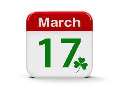 17th March - Patricks day Stock Illustration