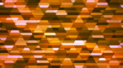 Broadcast Twinkling Diamond Hi-Tech Small Bars, Orange, Abstract, Loopable, 4K Stock Footage