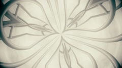 Kaleidoscope natural light effect, abstract texture, vj loop. Stock Footage