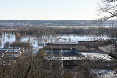 Flooding in Valley Park, Missouri Kuvituskuvat