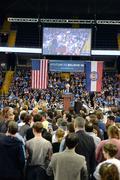 Bernie Sanders rally in Saint Charles, Missouri Stock Photos