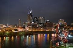 Downtown Nashville Tennessee Stock Photos