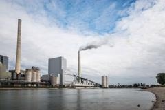 Großkraftwerk Mannheim, Germany Stock Footage
