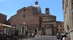 Cathedral of the Assumption of Mary of Padua Stock Footage